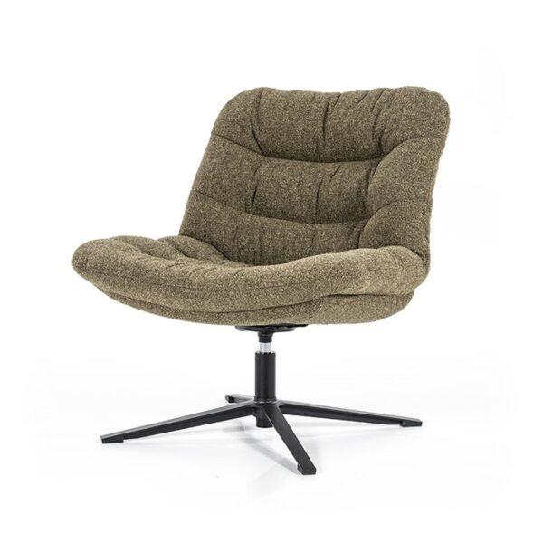 Eleonora Danica fauteuil stof Baquer groen