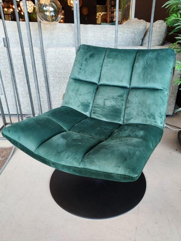 Dutchbone Bar lounge chair groen showroommodel