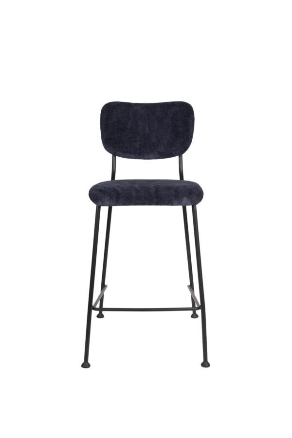 Zuiver Benson counterstool donker blauw