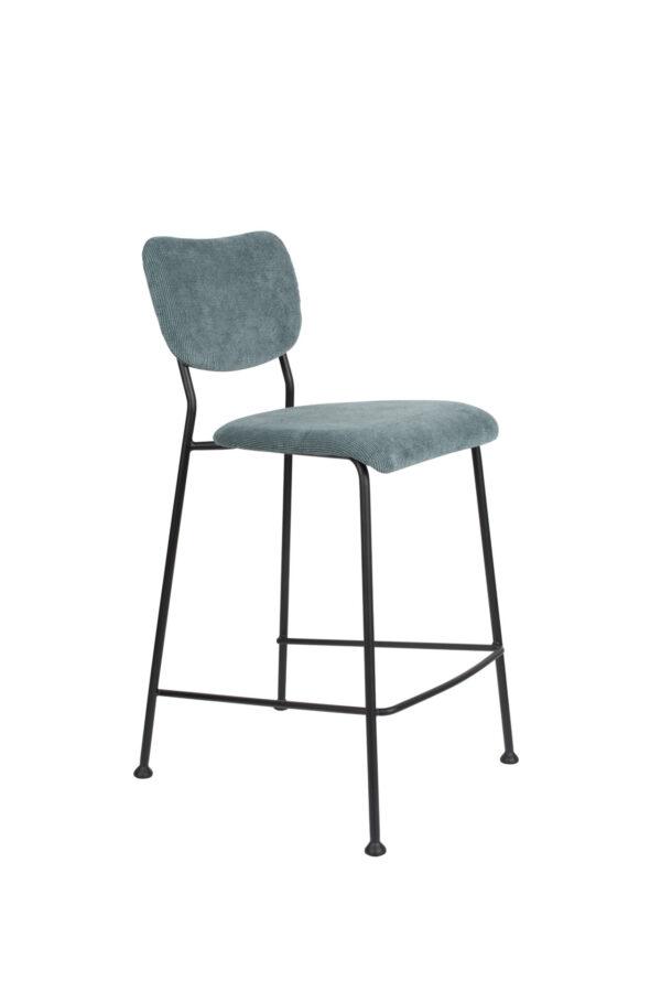 Zuiver Benson counterstool grijs blauw