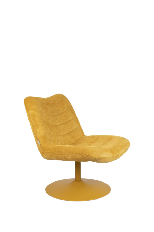 Zuiver Bubba lounge chair oker