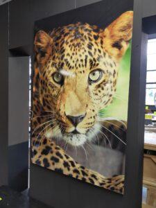 MondiArt AluArt Leopard 80 x 120 cm showroommodel